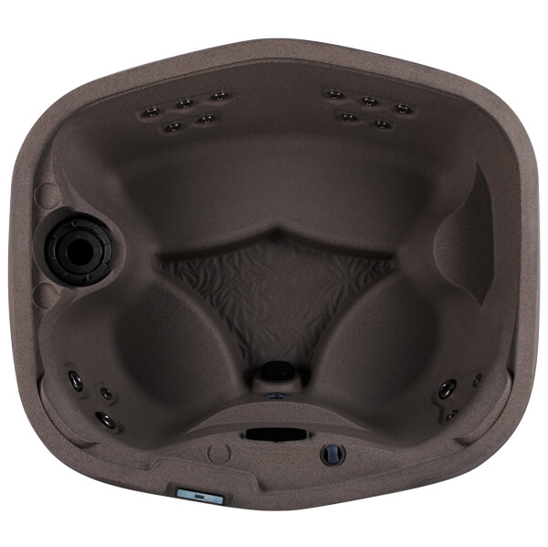 freeflow cascina hot tub overhead image expresso