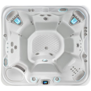 grandee hot tub overhead image 1