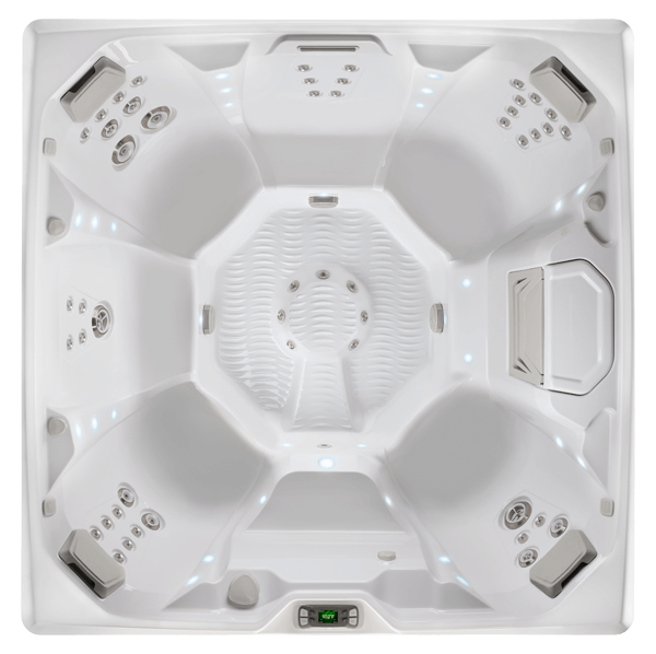 LIMELIGHT PULSE HOT TUB OVERHEAD IMAGE