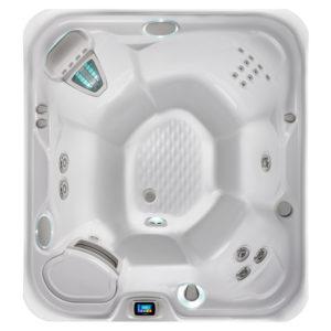 prodigy hot tub overhead image