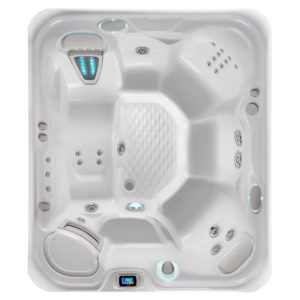 sovereign hot tub overhead image