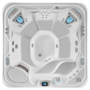 vanguard hot tub overhead image