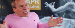 hot tubs testimonial video image of warwick davis