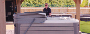Hotspring - Maintaining your hot tub with Warwick Davis video image