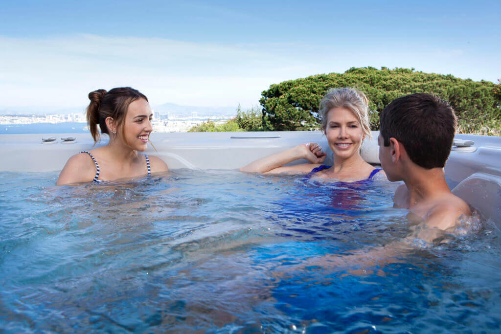 buying a hot tub image hotspring world