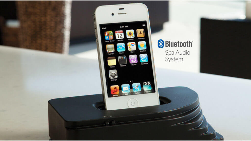 HOT TUBS BLUETOOTH MUSIC SYSTEM IMAGE