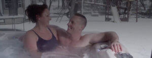 hot tub videos - family time together