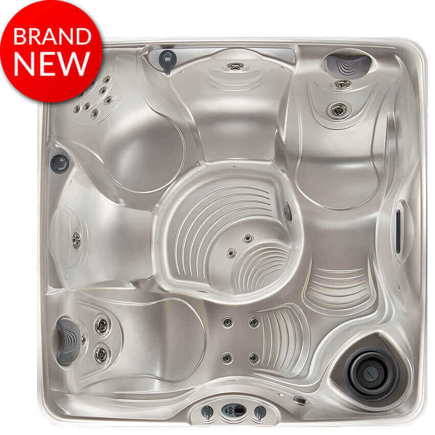 propel 5 person hot tub overhead image