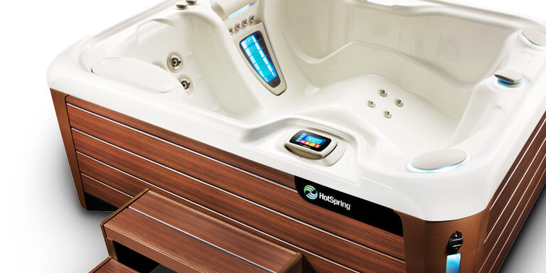 hot tubs by hotspring world quick link image
