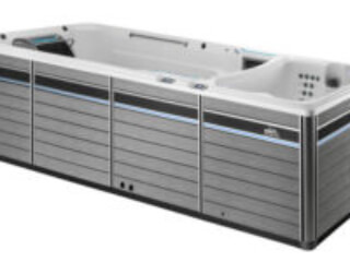 e2000 endless pools fitness system side image