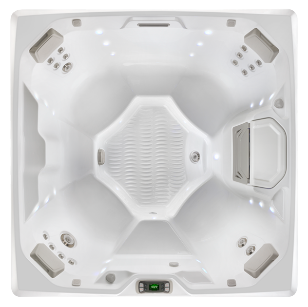 LIMELIGHT BEAM HOT TUB OVERHEAD IMAGE