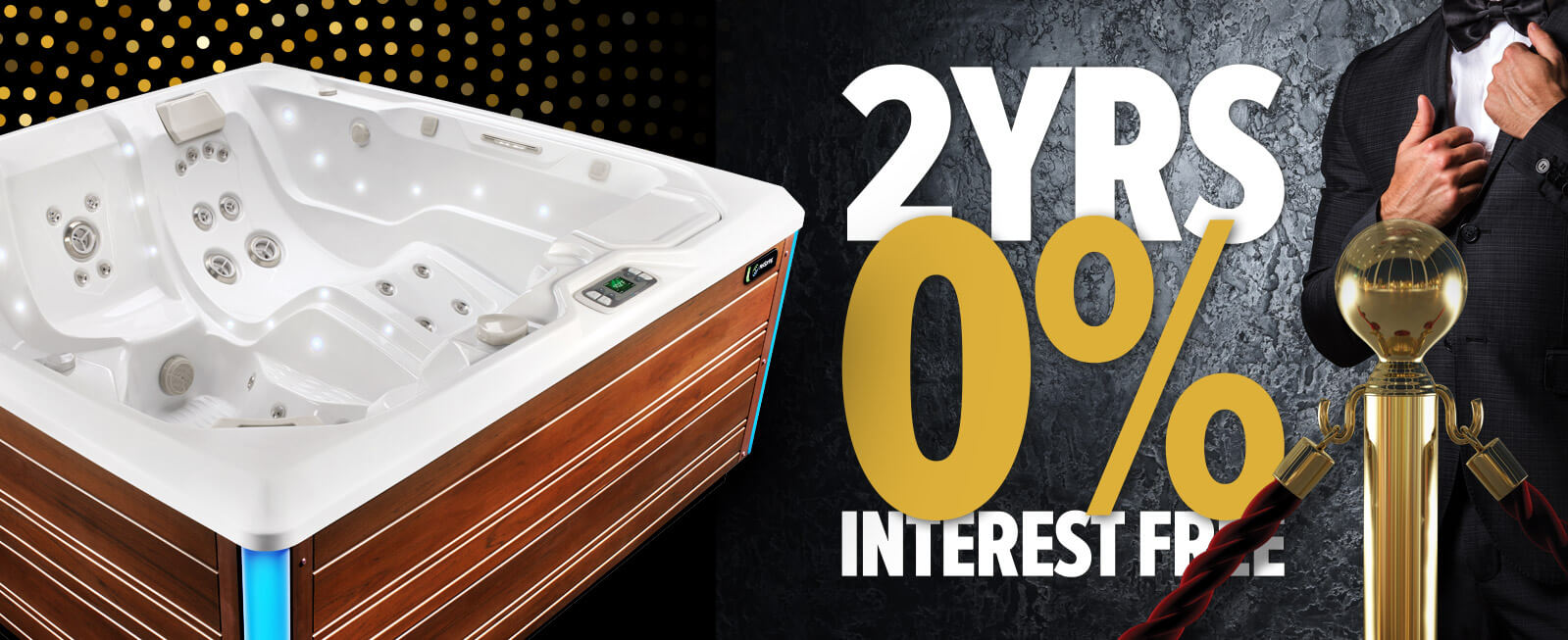 vip exclusive hot tub upgrade offers homepage finance banner