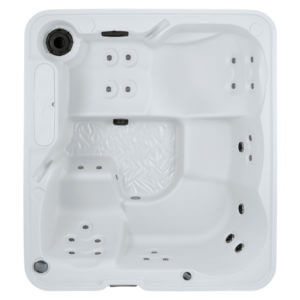 excursion freeflow premier hot tub overhead image