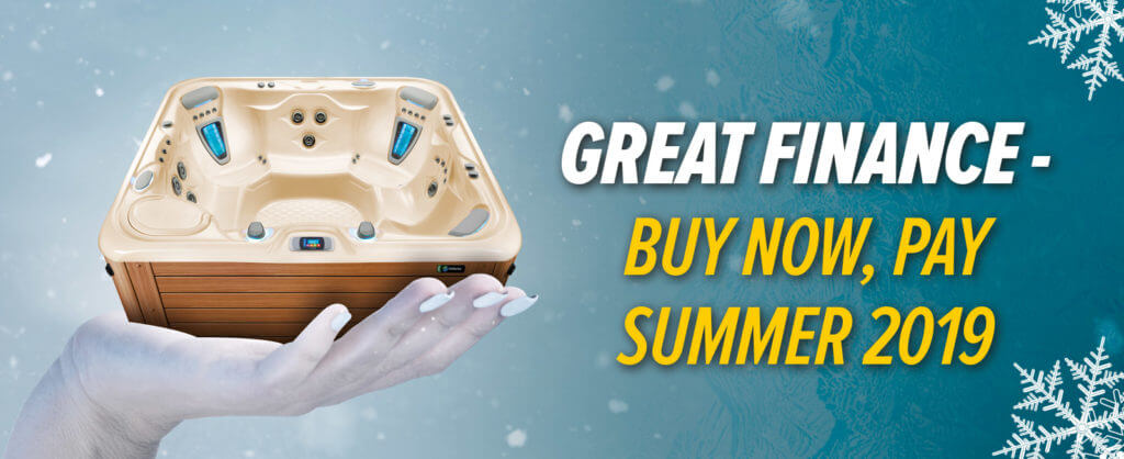 the gig hot tub sale finance homepage banner