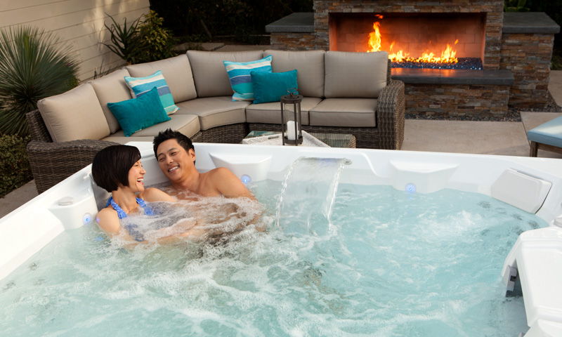 Romantic ideas at home this Valentine's Day hot tub image 4
