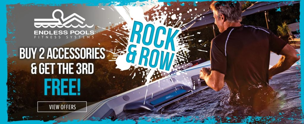 Rock & Row Endless Pools Accessory Offer homepage banner image