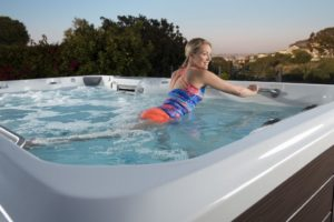 Exercise benefits of Hot Tubs image